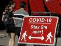 Británia druhý deň po sebe zaznamenala vyše 7-tisíc infikovaných KORONAVÍRUSOM