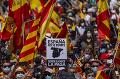 V Španielsku ľudia protestovali proti milosti pre katalánskych separatistov