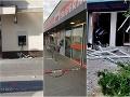 BOMBOVÁ NOC Na Slovensku vybuchovali bankomaty: FOTO obrovská spúšť! Polícia má plné ruky práce