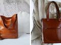 Kvalitné kožené kabelky v zemitých farbách