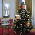 """Vianočné stromčeky u """"najvyšších"""": Ktorý sa vám páči najviac?"""