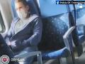 VIDEO Otrasné zábery natočené počas cesty: Masturbácia priamo vo vlaku! Muža už hľadá polícia