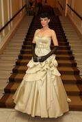 Linda Rezešová v čase, keď randila s Borisom Kollárom. Boli spolu aj na Plese v opere.