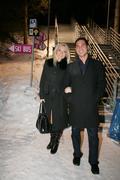 Na žúr prišla aj tehotná moderátorka Aneta Parišková. Spoločnosť jej robil kanadský priateľ Mark.