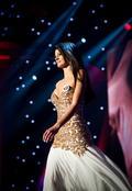 Víťazka Miss Universe 2011 s číslom 12 Dagmar Kolesárová