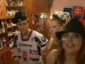 Sajfa, Adela aj Evita si uťahovali z hokejovej hymny.