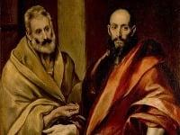 Sv. Peter a Pavol na maľbe zo 16. storočia od maliara El Greca