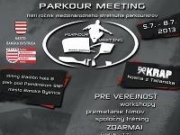 PARKOUR MEETING BANSKÁ BYSTRICA 2013