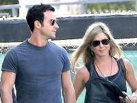 Justin Theroux a Jennifer Aniston