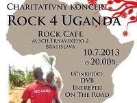 Charitatívny koncert Rock 4 Uganda