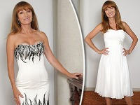 Nestarnúca Jane Seymour sa v šesťdesiatke zhostila roly modelky vo svadobných šatách.
