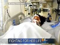 Linda je od operácie v kóme