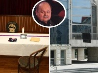Za zosnulého Jozefa Bednárika zapálili v jeho rodnej obci pamätnú sviecu. Na novej budove SND visela čierna zástava.