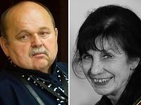 Umelci smútia za svojimi kolegami - Jozefom Bednárikom a Auréliou Gurkovou.