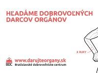 BDC hľadá dobrovoľných darcov orgánov