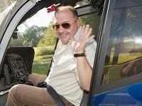 Michal David sa presúval helikoptérou. Vystúpenie nakoniec kvôli nehode neodohral.