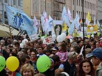 Pochod za život v Košiciach