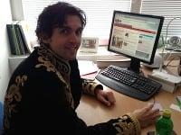 Miroslav Bruise Žilka zo šou Česko Slovensko má talent bol online.