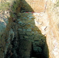Niektoré časti opevnenia našli až tri metre pod súčasnou úrovňou zeme.