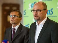 Ľubomír Galko a Richard Sulík
