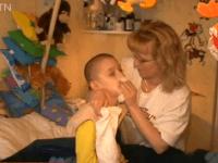 Filip s mamičkou