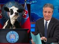 Slovenský prezident je krava