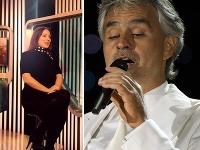 Adriana Kučerová pri svojich slovách akosi pozabudla na to, že spevák Andrea Bocelli je nevidiaci.