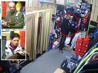 Údajných zlodejov zachytili bezpečnostné kamery