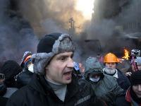 Opozičný líder a boxerský exšampión v ťažkej váhe Vitalij Kličko