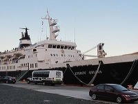 Podľa odborníkov je plavidlo zamorené potkanmi.