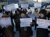 Protesty v Kyjeve
