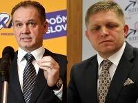 Andrej Kiska a Robert Fico sa pobijú o úrad prezidenta v druhom kole.