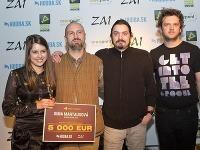 Sima Martausová s kapelou získala tri ceny