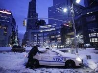 Kruté počasie v New Yorku