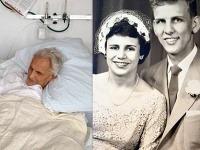 Floreen a Ed Haleovi na smrteľných posteliach a svadobné foto