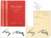 Hitlerom podpísaný Mein Kampf