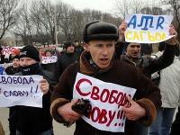Protest Krymských Tatárov