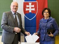 Ivan Gašparovič s manželkou Silviou