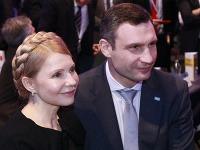 Vitalij Kličko a Júlija Tymošenková