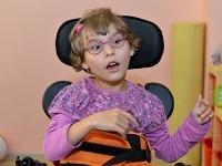 Viktorka je aj napriek postihu veľmi živé dieťatko