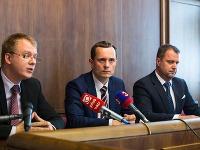 Miroslav Beblavý, Radoslav Procházka a Andrej Hrnčiar