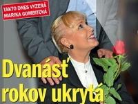 Marika Gombitová sa po 12 rokoch ukázala na verejnosti.