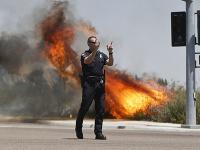 Kalifornia bojuje s lesnými požiarmi
