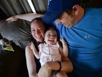 Riley s rodičmi