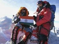 Malavath Poornaová zdolala Mount Everest