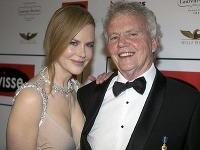 Nicole Kidman s otcom Anthonym, ktorému akoby z oka vypadla.