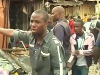 Mohutný výbuch v Nigérii