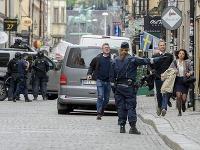 Bombový poplach v Štokholme