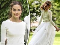 Olivia Palermo síce patrí medzi krásne dámy, no ako nevesta v pulóvri príliš neoslnila.