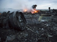 Havária lietadla na Ukrajine